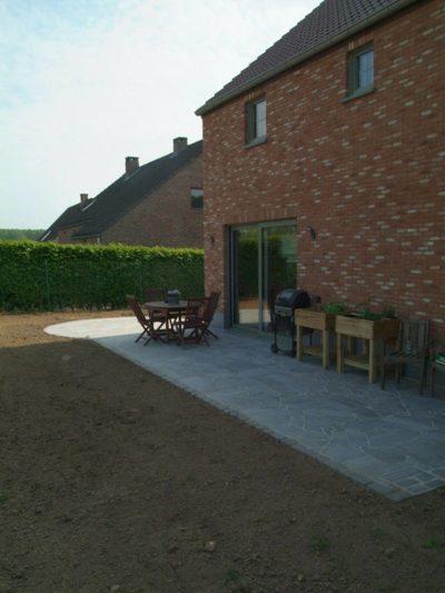 Aménagements terrasse maison Distrifox Sprl